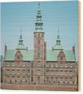 Copenhagen Rosenborg Castle Back Facade Wood Print