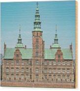 Copenhagen Rosenborg Castle Facade Wood Print