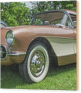 Copper 1967 Corvette  Wood Print