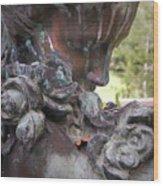 Copper Angel Wood Print