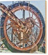Copper Bike Liberty Ambassador Ny  Wood Print