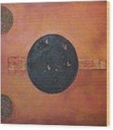 Copper Clad Wood Print