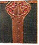 Copper Doors  Wood Print