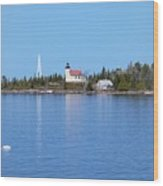 Copper Harbor Lighthouse Wood Print