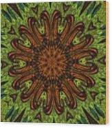 Copper Jewel Wood Print