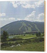 Copper Mountain Ski Area - Copper Mountain Colorado Wood Print