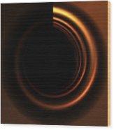 Copper Wood Print