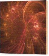 Copper Sunshine Wood Print
