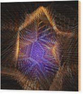 Copperhead Wood Print