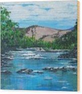 Coppins Crossing, Act, Australia Wood Print