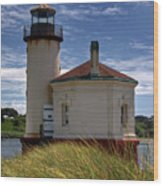 Coquille Lighthouse V Wood Print