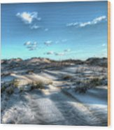 Coquina Beach, Cape Hatteras, North Carolina Wood Print