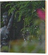 Corazon De Buda Wood Print