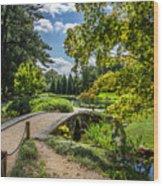 Corbel Arch Bridge Japanese Garden Maymont Wood Print