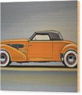 Cord 810 1937 Painting Wood Print