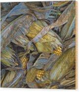 Corn Crops Wood Print