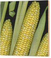 Corn On The Cob I  Wood Print
