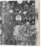 Corner Garden - Sao Miguel - Azores Wood Print