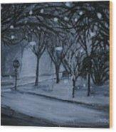 Corner Of Broadway And Wilson  Wood Print