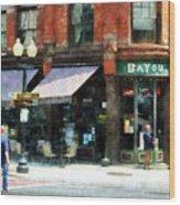 Corner Of Columbia And Pearl Albany Ny Wood Print