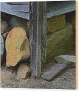 Corner Post 1 Wood Print