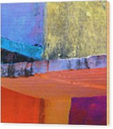 Corner Scroll 2 By Michael Fitzpatrick Wood Print by Mexicolors Art Photography