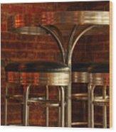 Corner Table - Color Wood Print