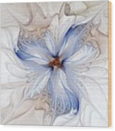 Cornflower Blues Wood Print