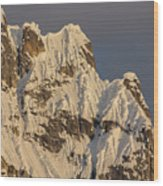 Cornices On The Rooster Comb Wood Print