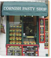 Cornish Pasty Shop Wood Print