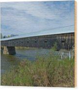 Cornish-windsor Bridge Wood Print
