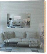 Cornwall Interior Design Wood Print
