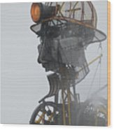 Cornwall Man Engine Wood Print
