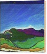 Coromandel Peninsula Wood Print