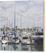 Coronado Boats II Wood Print