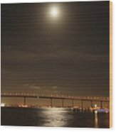 Coronado Bridge Wood Print