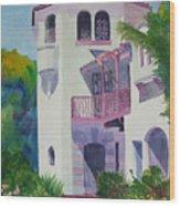 Coronado Lady Wood Print