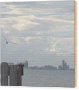 Corpus Christi Bay Wood Print