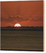 Corralejo Fuerteventura Sunset Wood Print