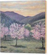 Corrales New Mexico Wood Print