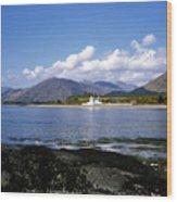 Corran Lighthouse Western Shore Loch Linnhe Fort William Scotland Wood Print