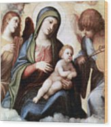 Correggio Painting Wood Print