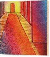Corridor Of Dreams Wood Print