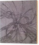 Corruption Wood Print