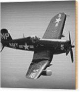 Corsair Flight Wood Print
