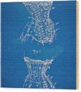 Corset Patent Series 1908 Wood Print