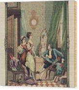 Corset Trade Card, 1912 Wood Print