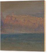 Corsica Wood Print