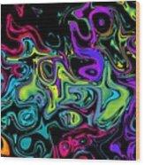 Cortex Daydream Wood Print