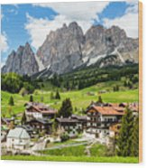 Cortina D'ampezzo, Italy Wood Print